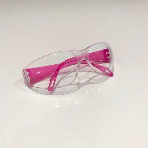 Sikkerhedsbriller til børn – Lyserød